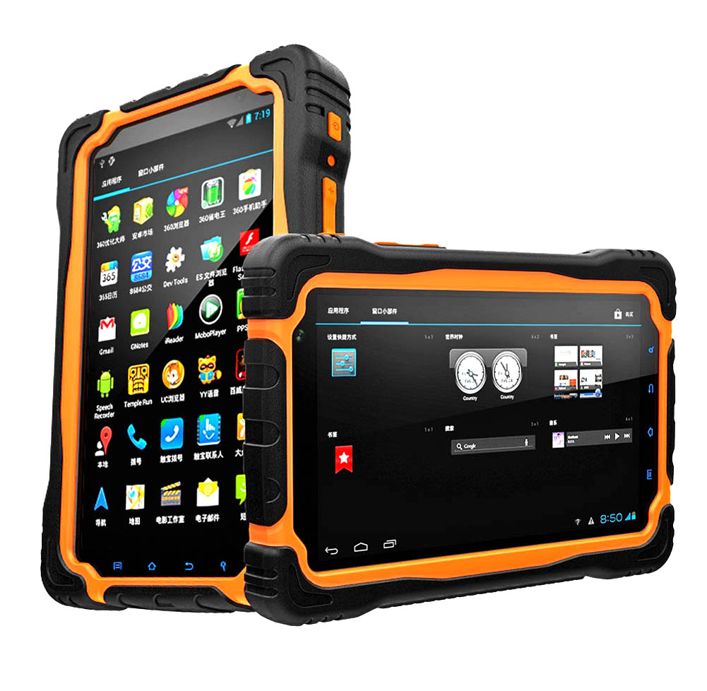 Highton Best 7 inch Android 6.0 Deca-core rugged tablets 4G/64G Strong Sunlight Readable Tablet pc 4G LTE with NFC UHF RFID