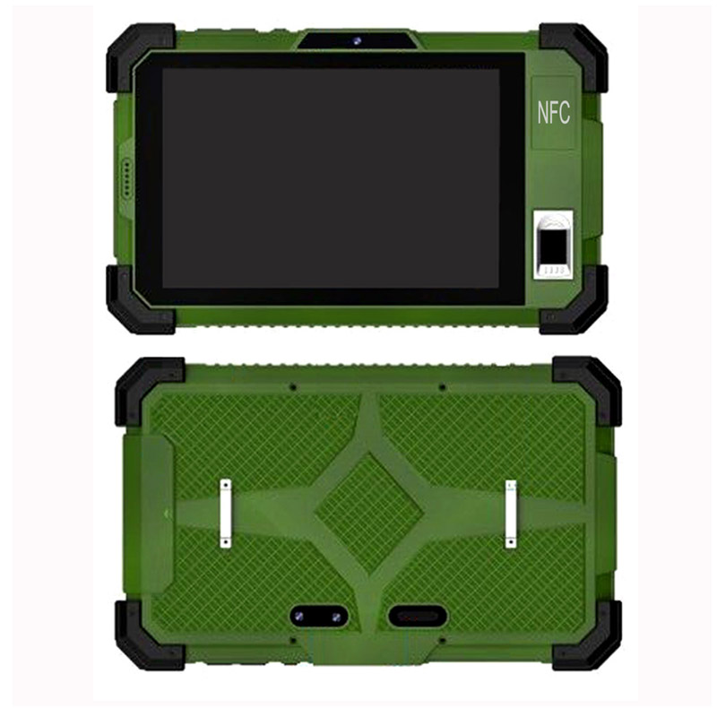 Cheapest 7 inch android RFID NFC fingerprint rugged tablets rugged tablet pc computer HR735